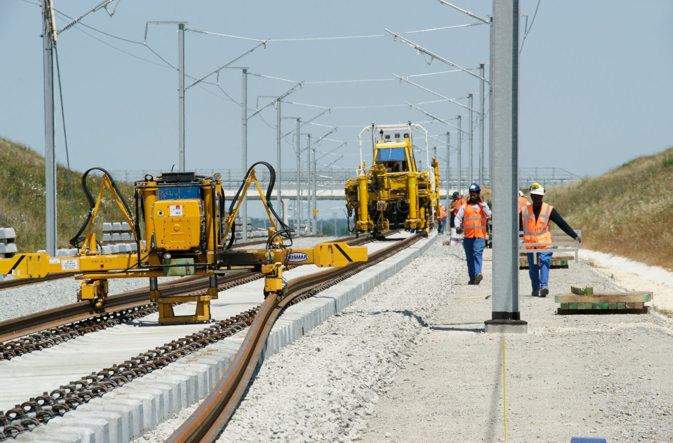 High Speed Line Track Construction - SEA Railway Line